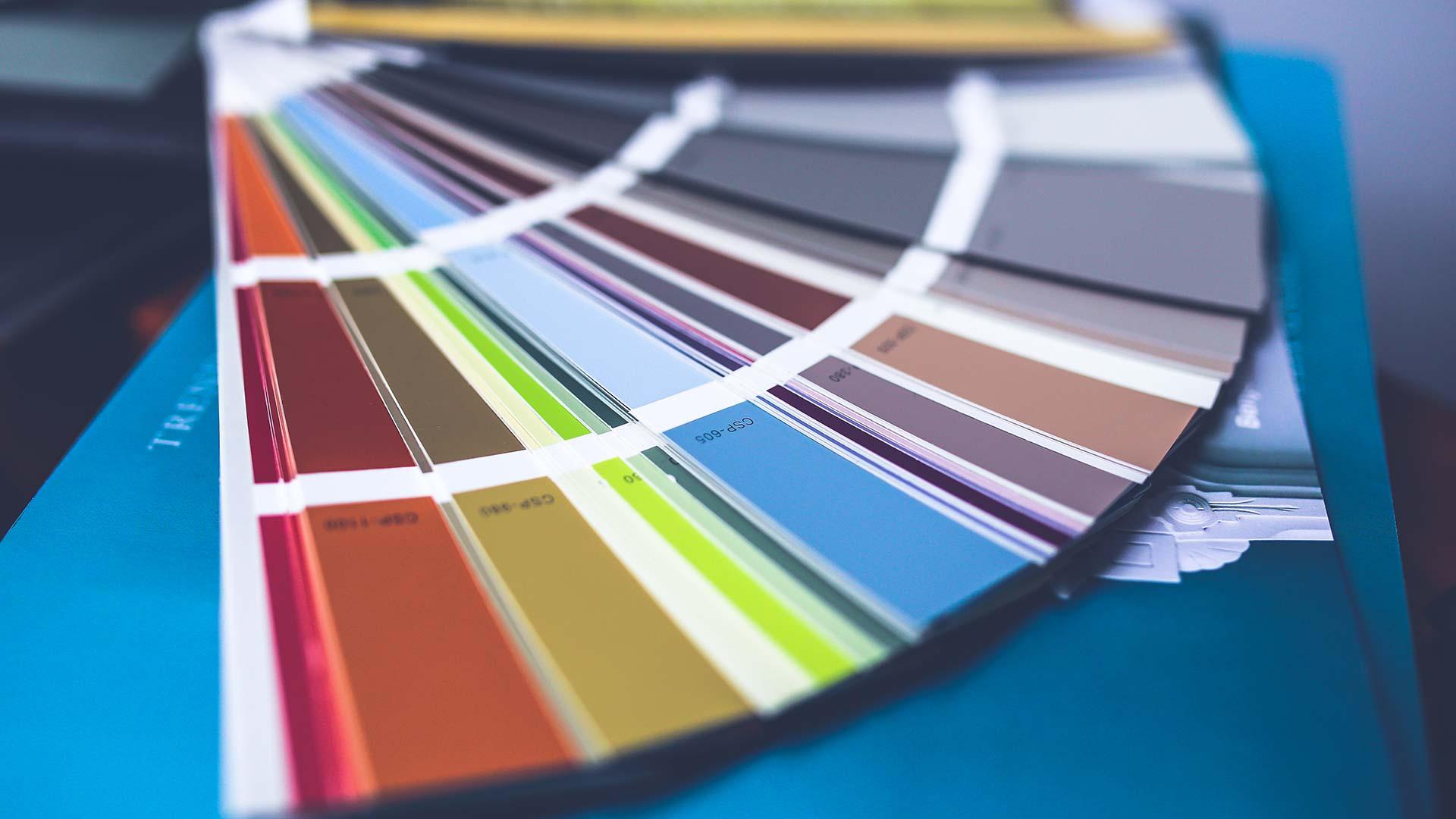 Choix de couleurs - Peinture